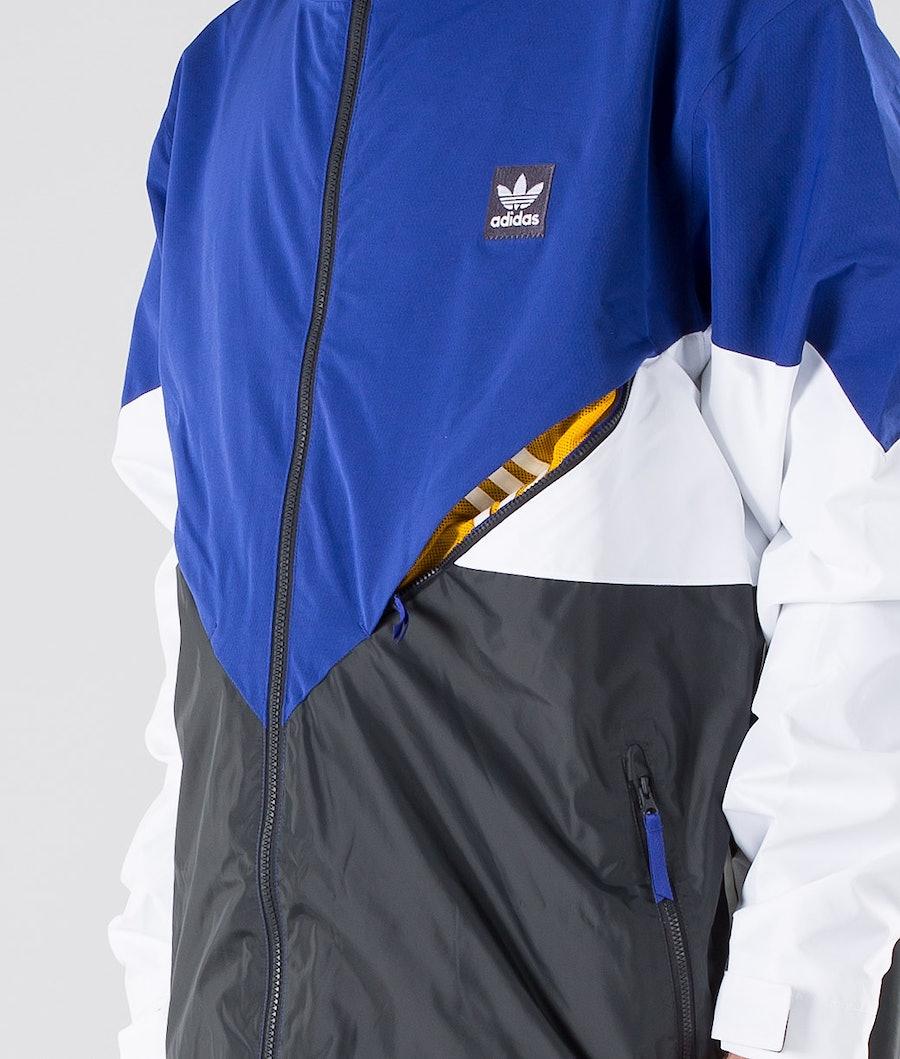 Adidas Snowboarding Premier Riding Jakke Active Blue/Carbon/Cream White/White