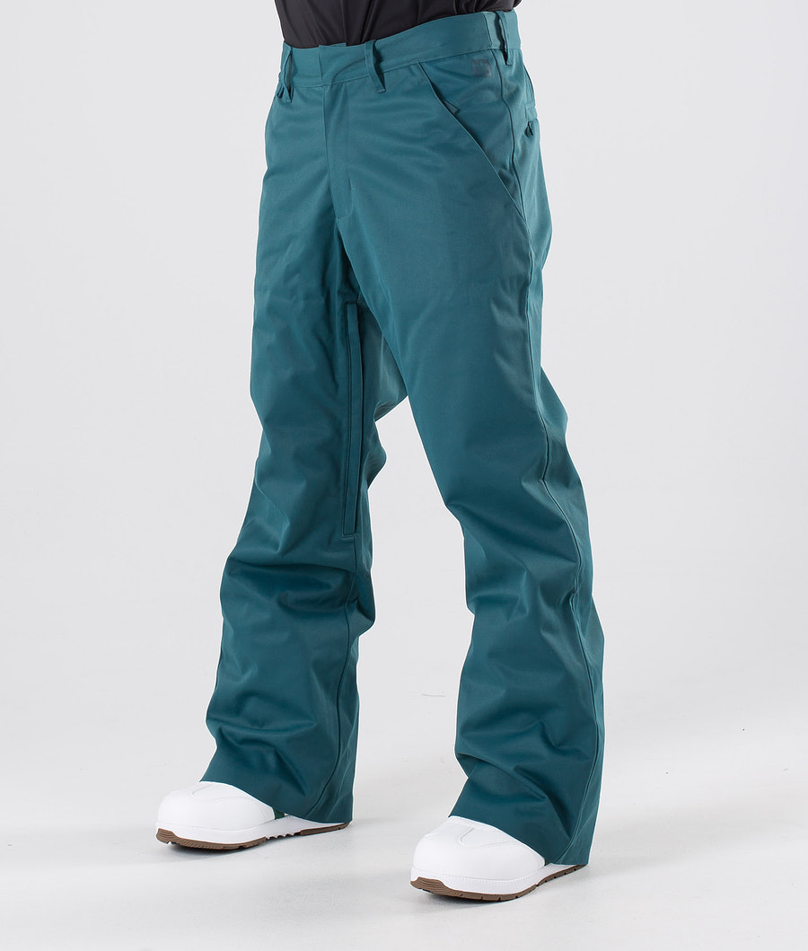 Adidas Snowboarding Snow Chino Pantalon Viridian/Power Red