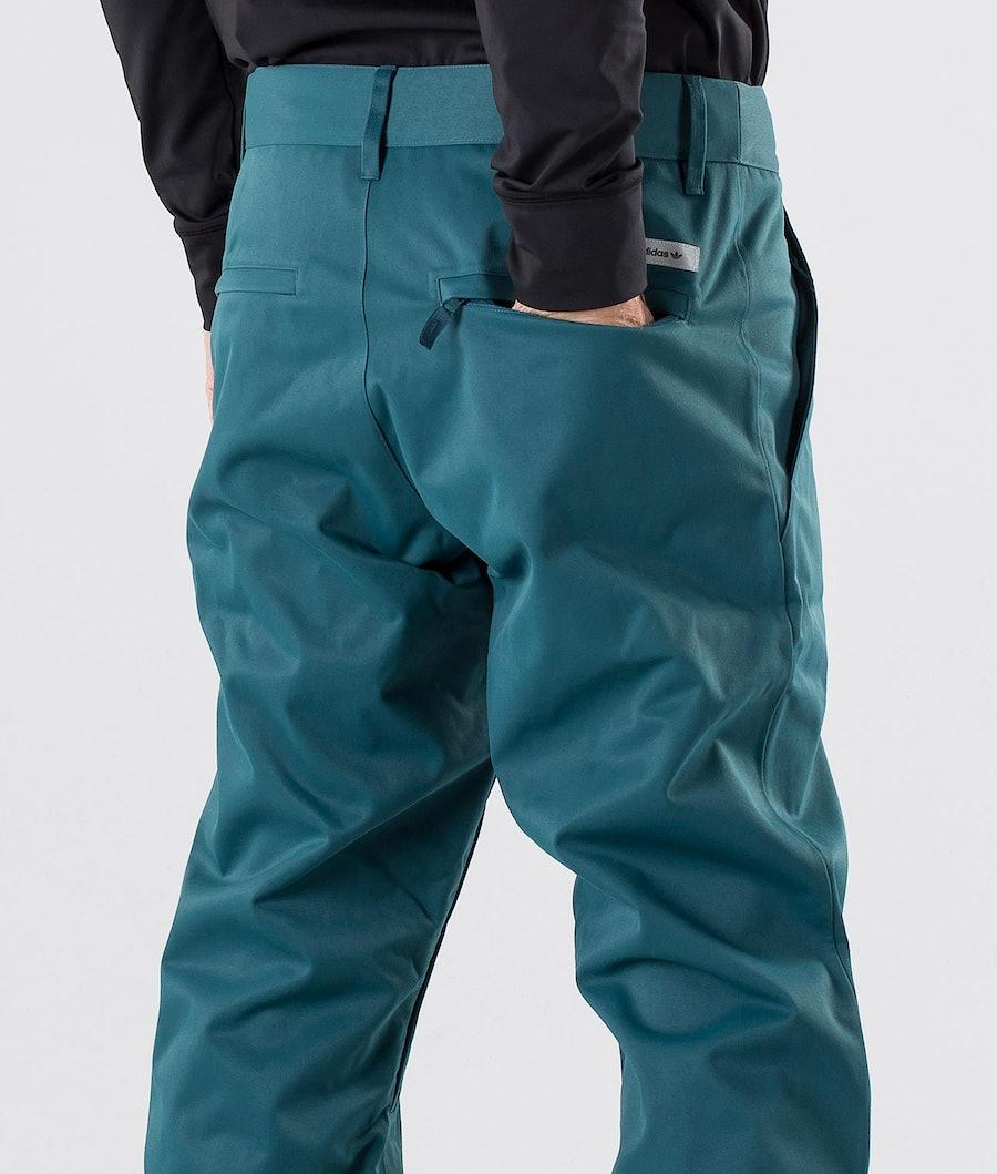 Adidas Snowboarding Snow Chino Bukser Viridian/Power Red