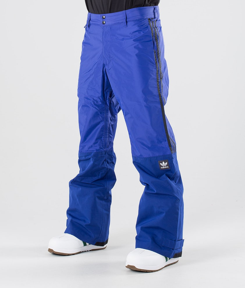 Adidas Snowboarding Riding Snowboard Pants Active Blue/Collegiate Gold