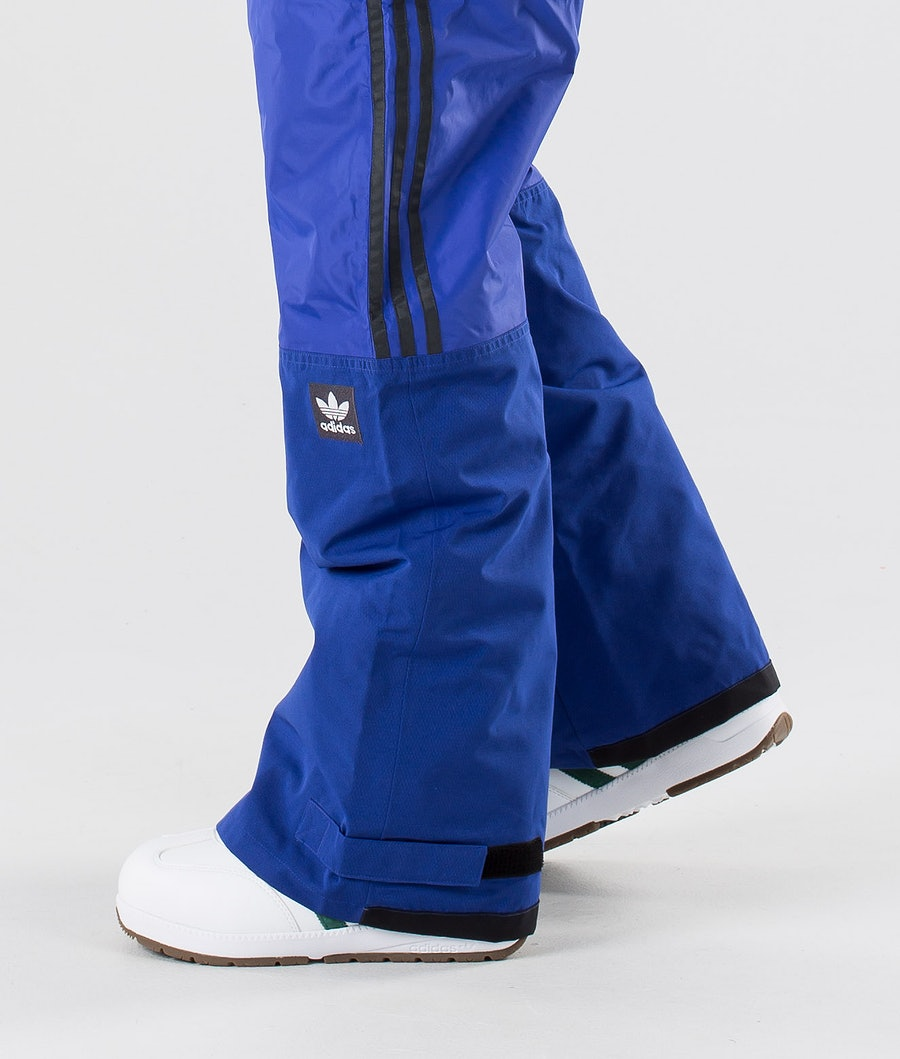 Adidas Snowboarding Riding Bukser Active Blue/Collegiate Gold