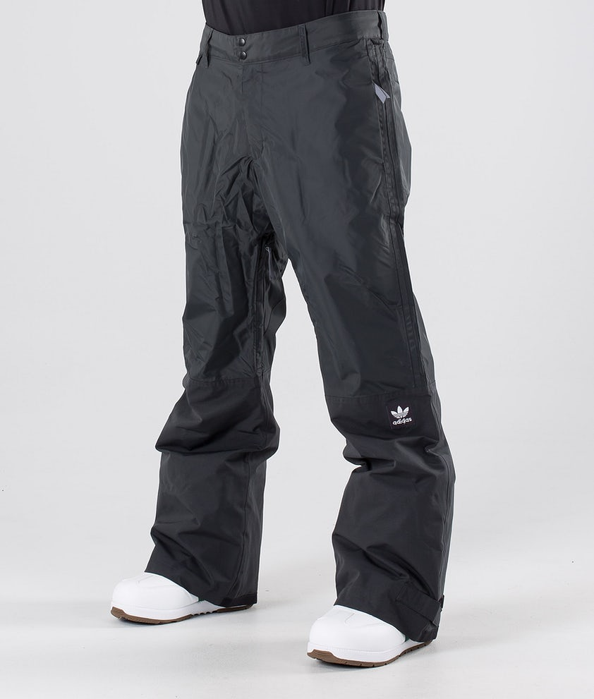 Adidas Snowboarding Riding Snowboard Pants Carbon/Cream White