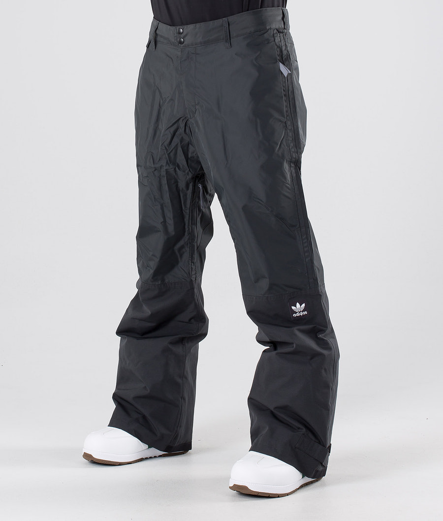 Adidas Snowboarding Riding Pantalon Carbon/Cream White