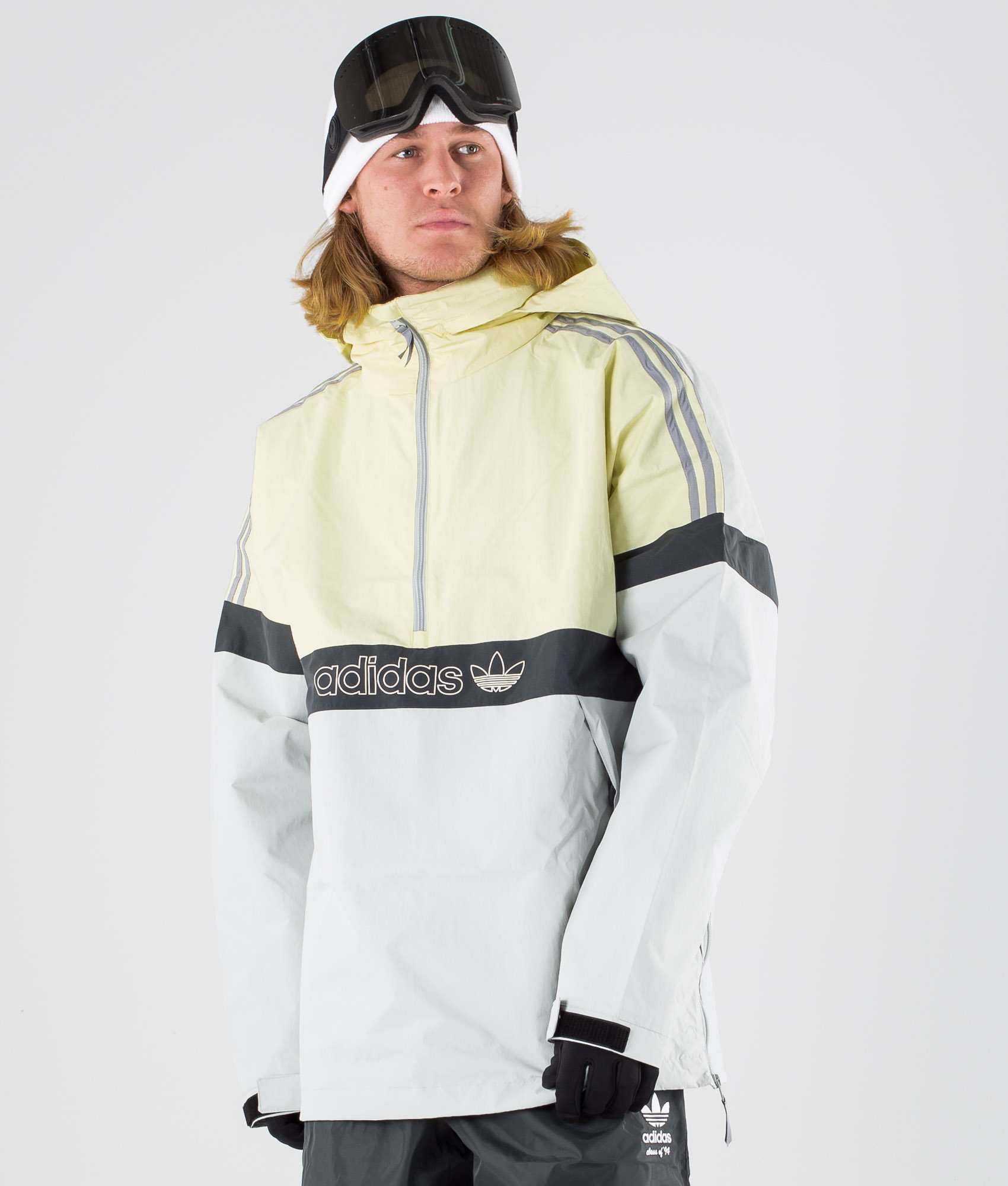 adidas BB Snowbreaker Snowboard Jacket (haze yellow stone)