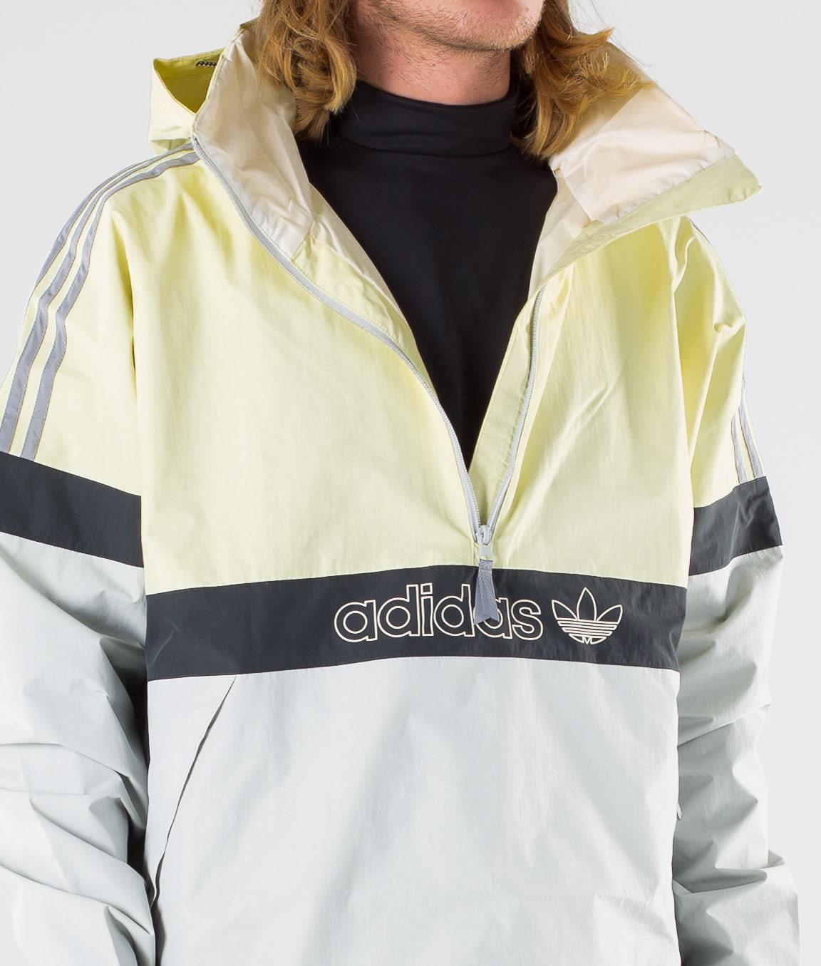 Adidas Snowboarding BB Snowbreaker Snowboardjakke Haze Yellow/Stone/Carbon