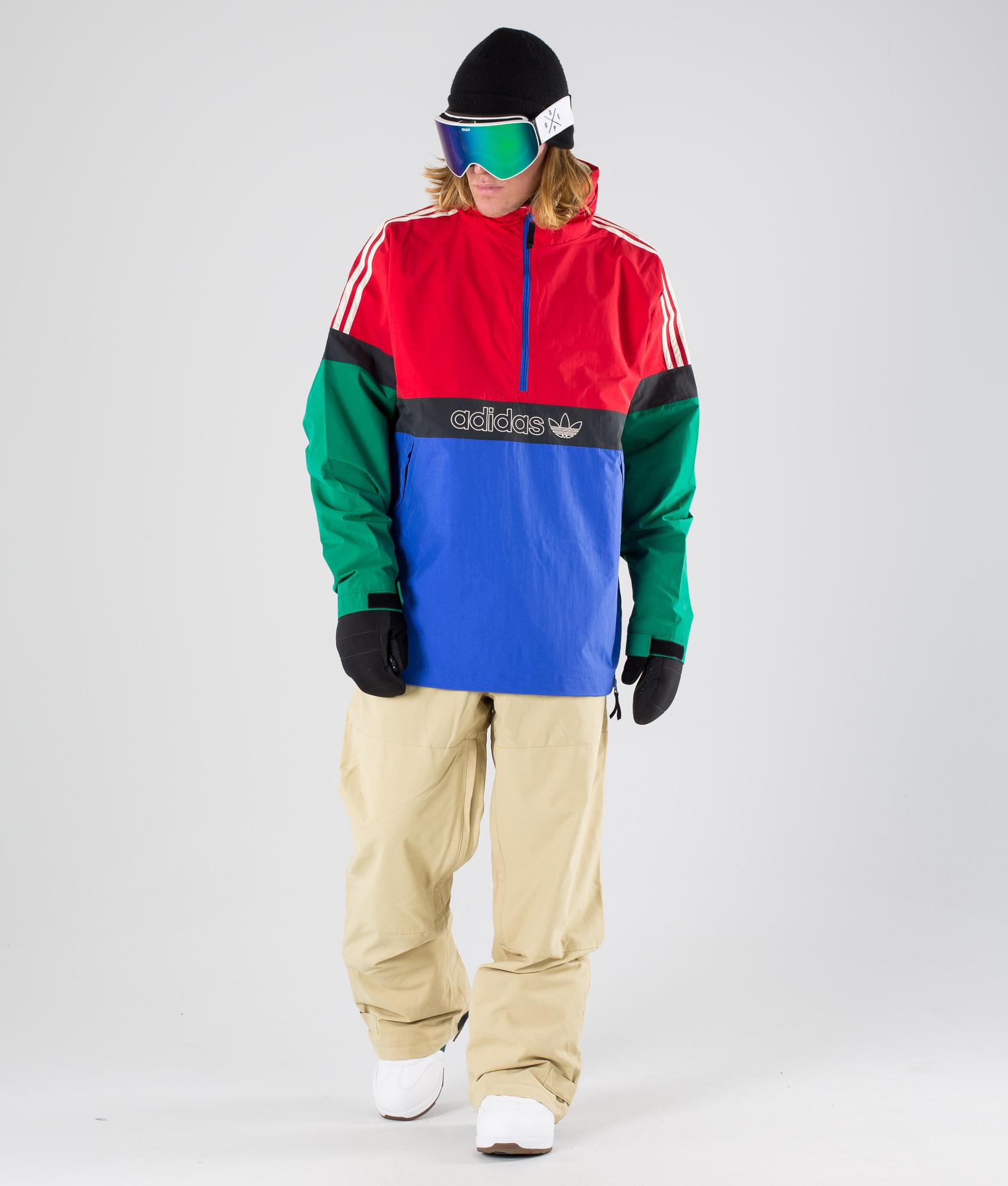 Adidas Snowboarding BB Snowbreaker Snowboard Jacket Haze YellowStoneCarbon