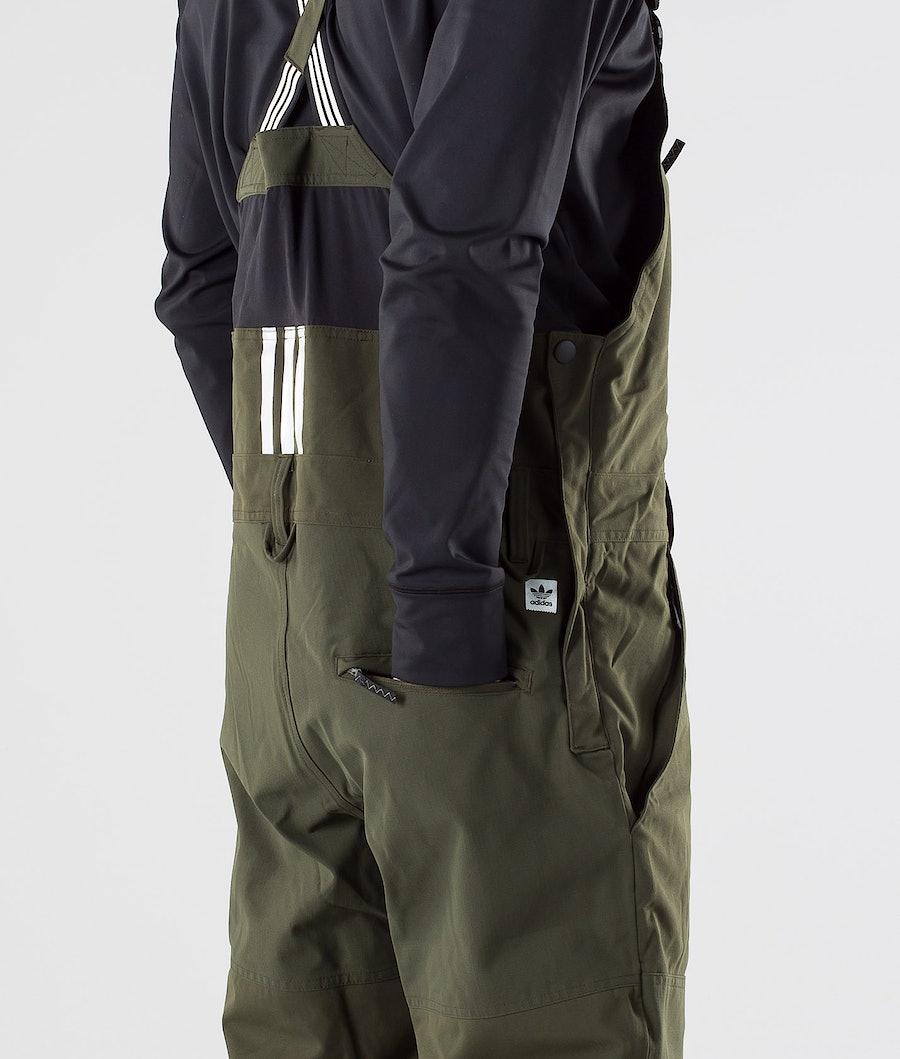 Adidas Snowboarding Utility Bib Snowboardbyxa Night Cargo/Collegiate Purple