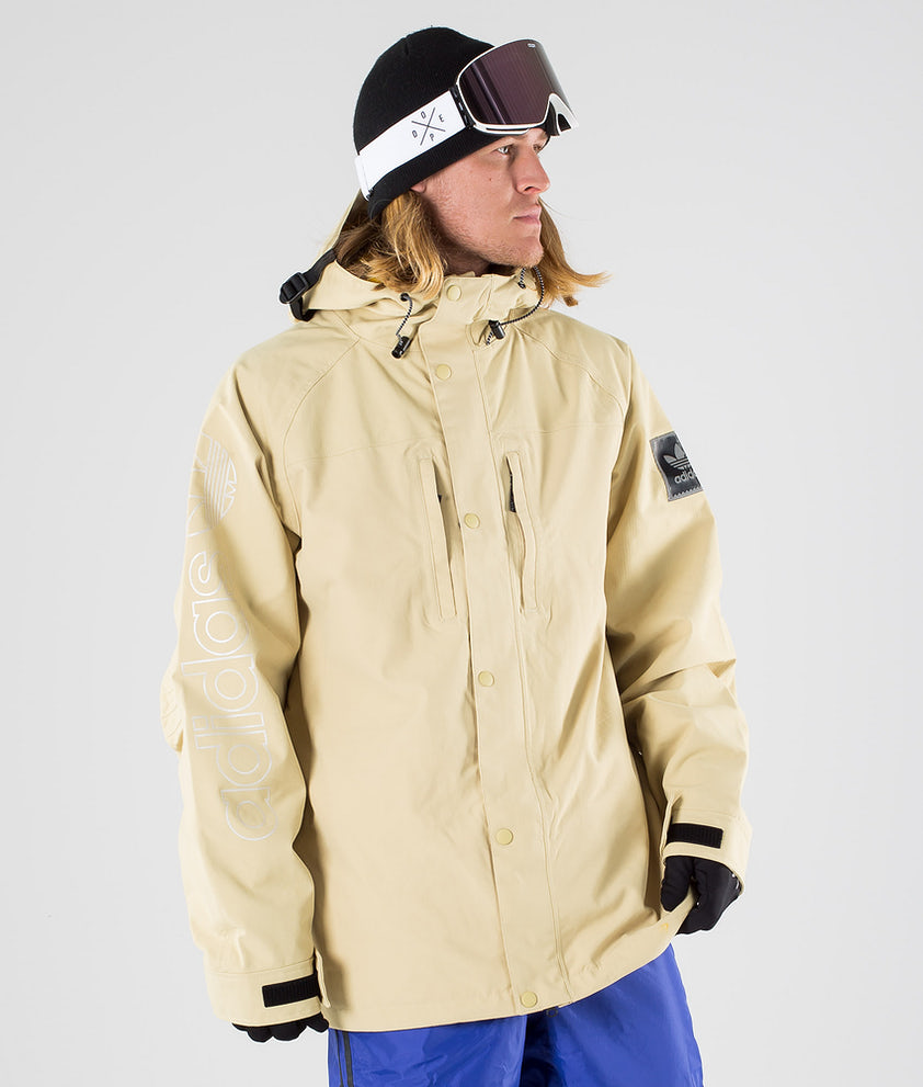 Adidas Snowboarding Utility Snowboardjakke Sand/Collegiate Gold
