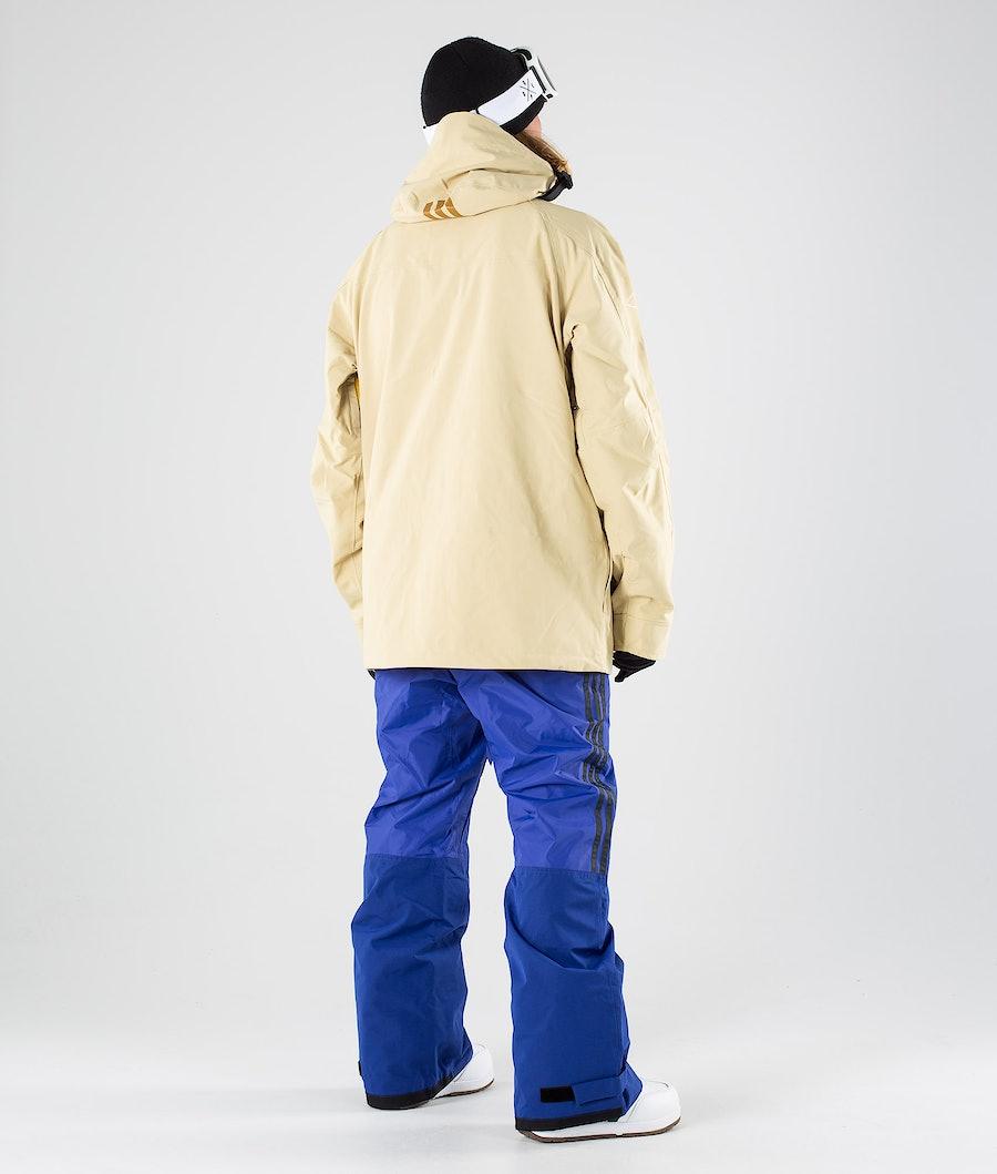 Adidas Snowboarding Utility Snowboard Jacket Sand/Collegiate Gold