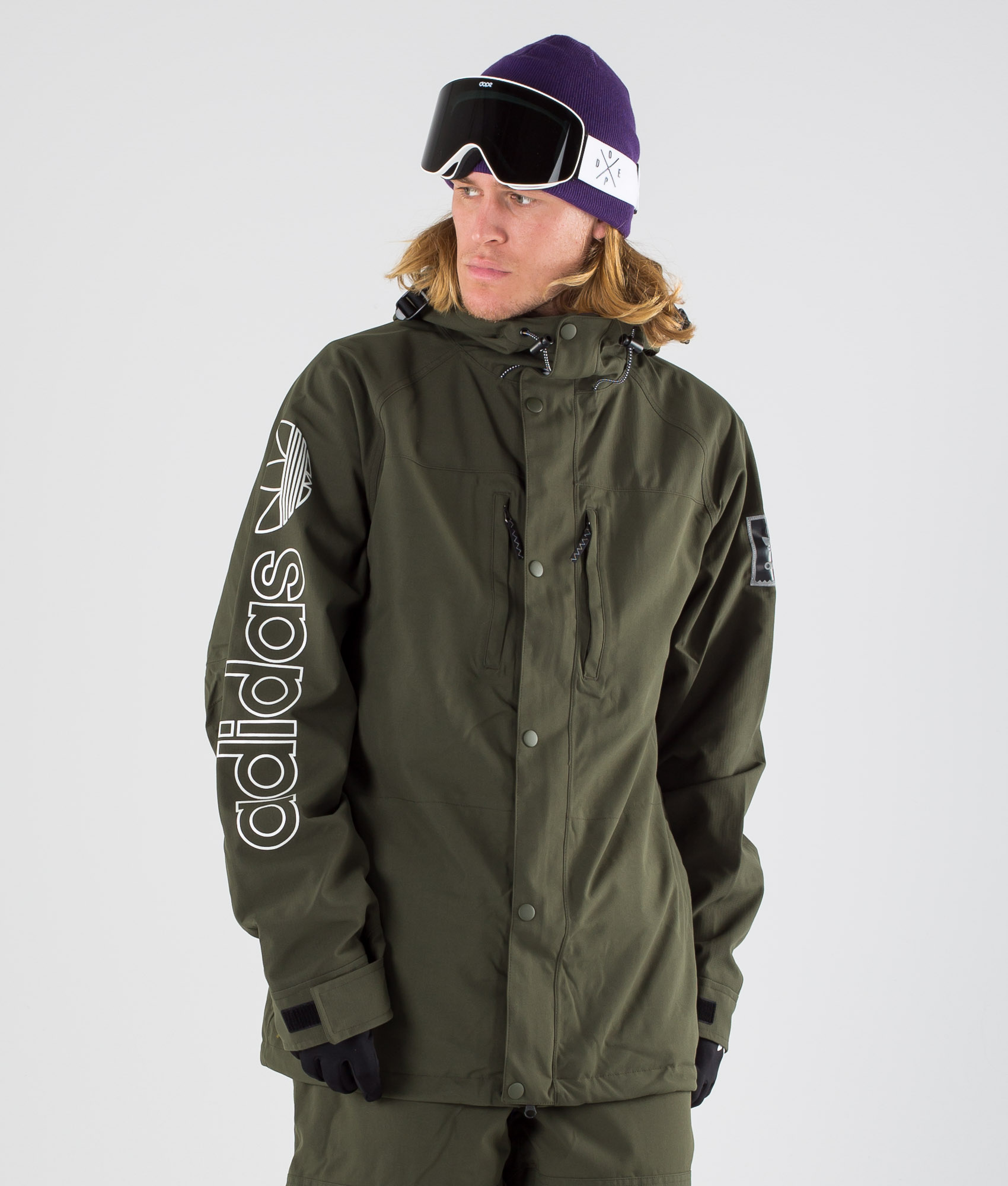 Adidas Snowboarding Herren Ski Snowboardjacke Utility