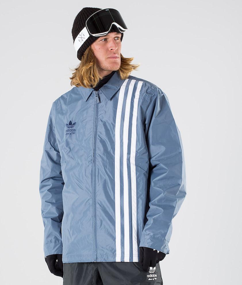 Adidas Snowboarding Civilian Snowboardjakke Raw Steel S18/Easy Yellow/White
