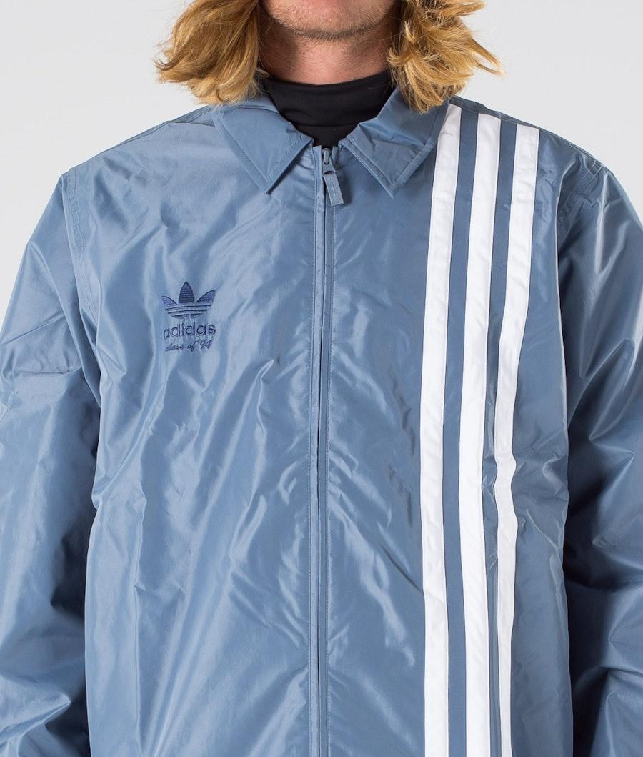 Adidas Snowboarding Civilian Snowboard Jacket Raw Steel S18/Easy Yellow/White