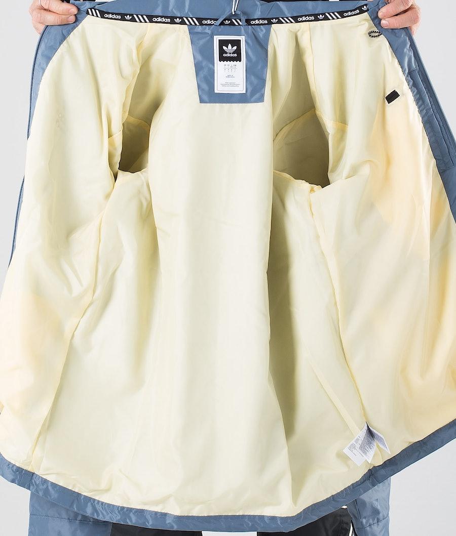 Adidas Snowboarding Civilian Snowboardjacka Raw Steel S18/Easy Yellow/White