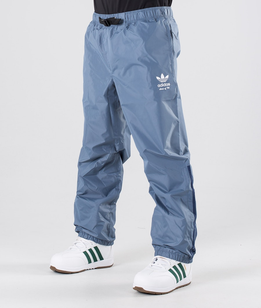Adidas Snowboarding Comp Snowboardhose Raw Steel/Noble Indigo/Easy Yellow