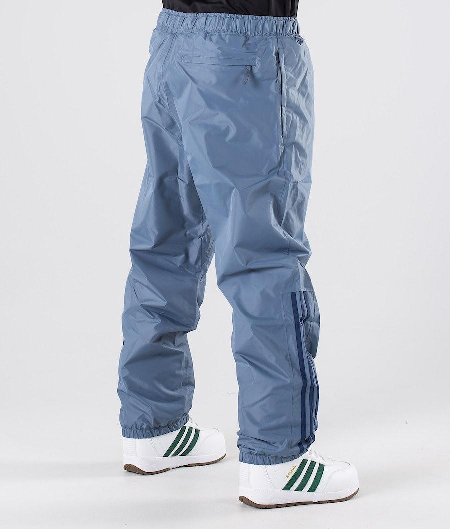 Adidas Snowboarding Comp Snowboard Pants Raw Steel/Noble Indigo/Easy Yellow