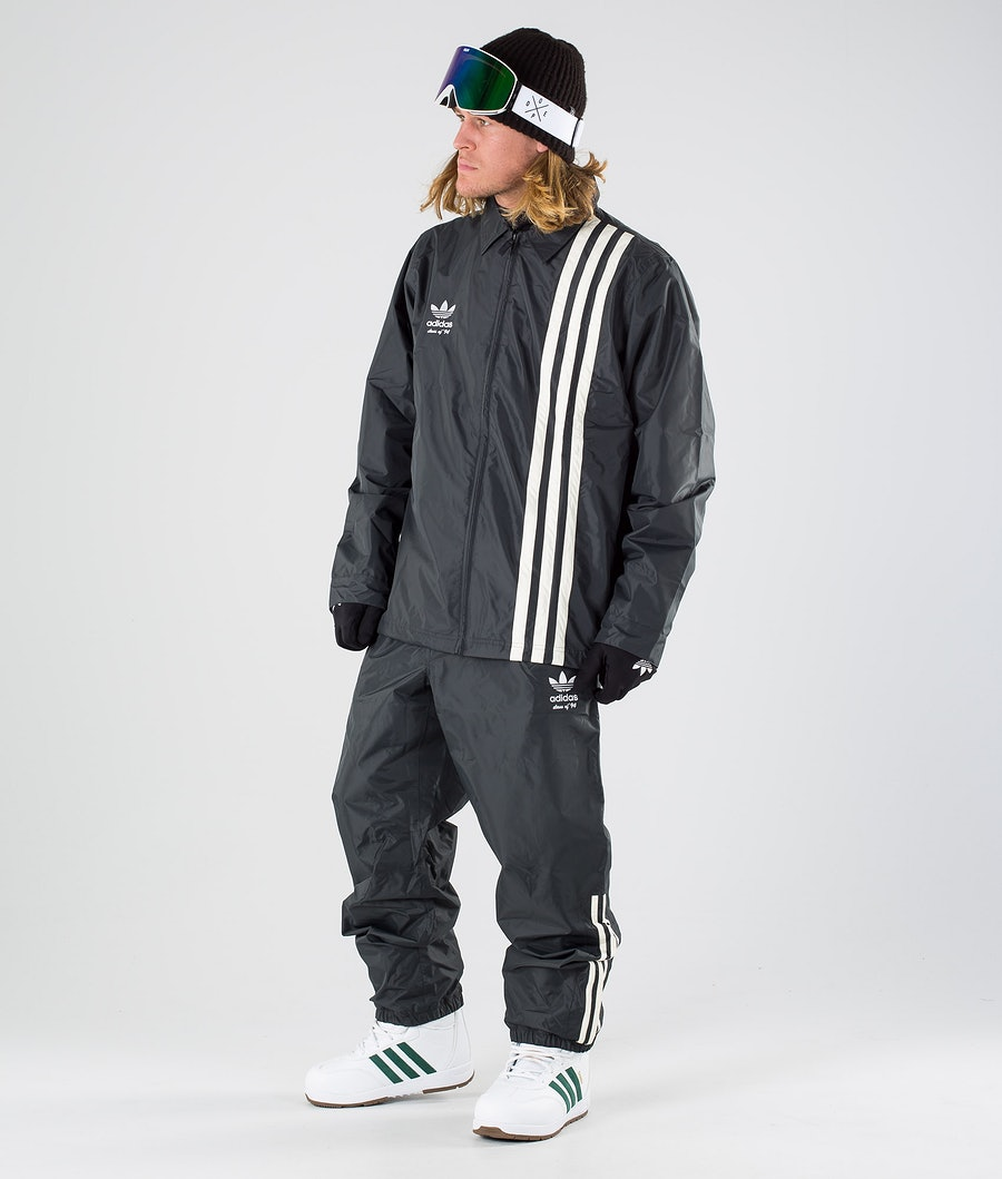 Adidas Snowboarding Civilian Snowboard Jacket Carbon/Active Blue/Cream White