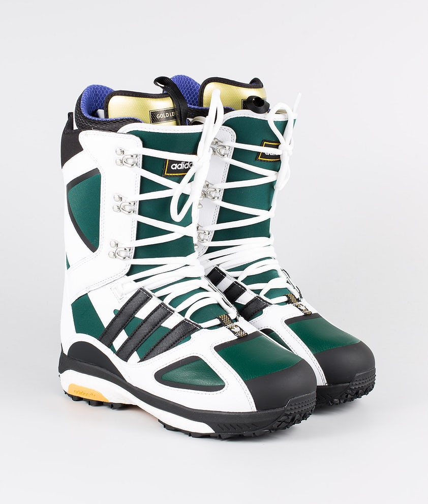 Adidas Snowboarding Tactical Lexicon Ad Snowboardboots Footwear White/Core Black/Collegiate Green