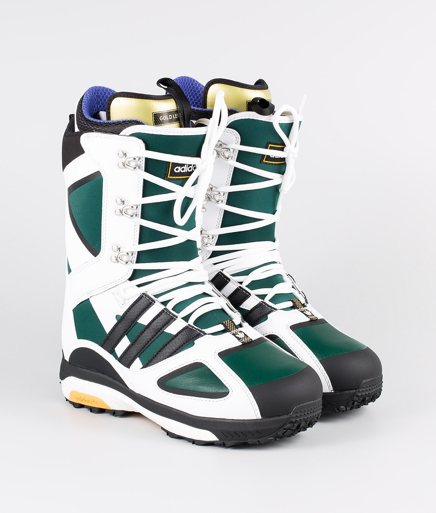 Adidas Snowboarding Tactical Lexicon Ad Lumilautakengät Footwear White/Core Black/Collegiate Green