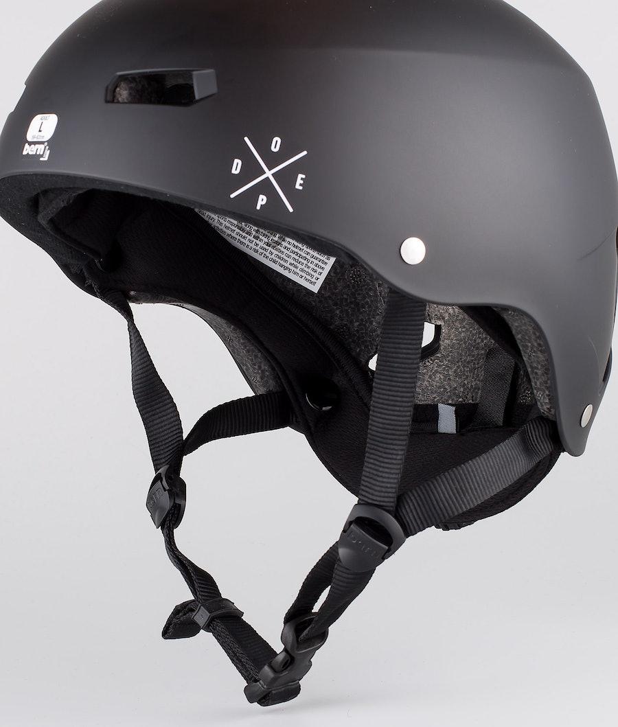 Bern Macon Dope 2X-UP Eps Boa Ski Helmet Matt Black