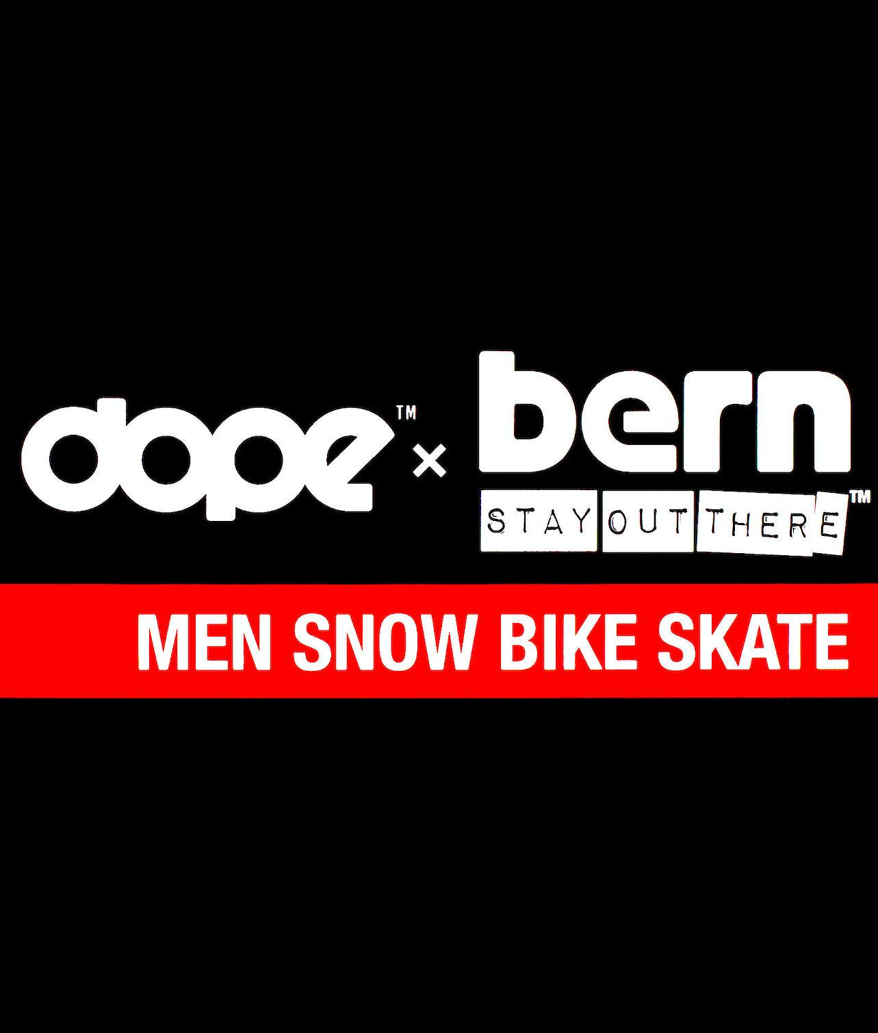 Bern Macon Dope 2X-UP Eps Boa Skihelm Matt white