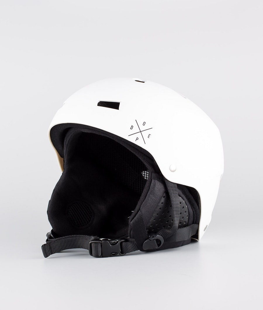 Bern Macon Dope 2X-UP Eps Boa Skihelm Matt White