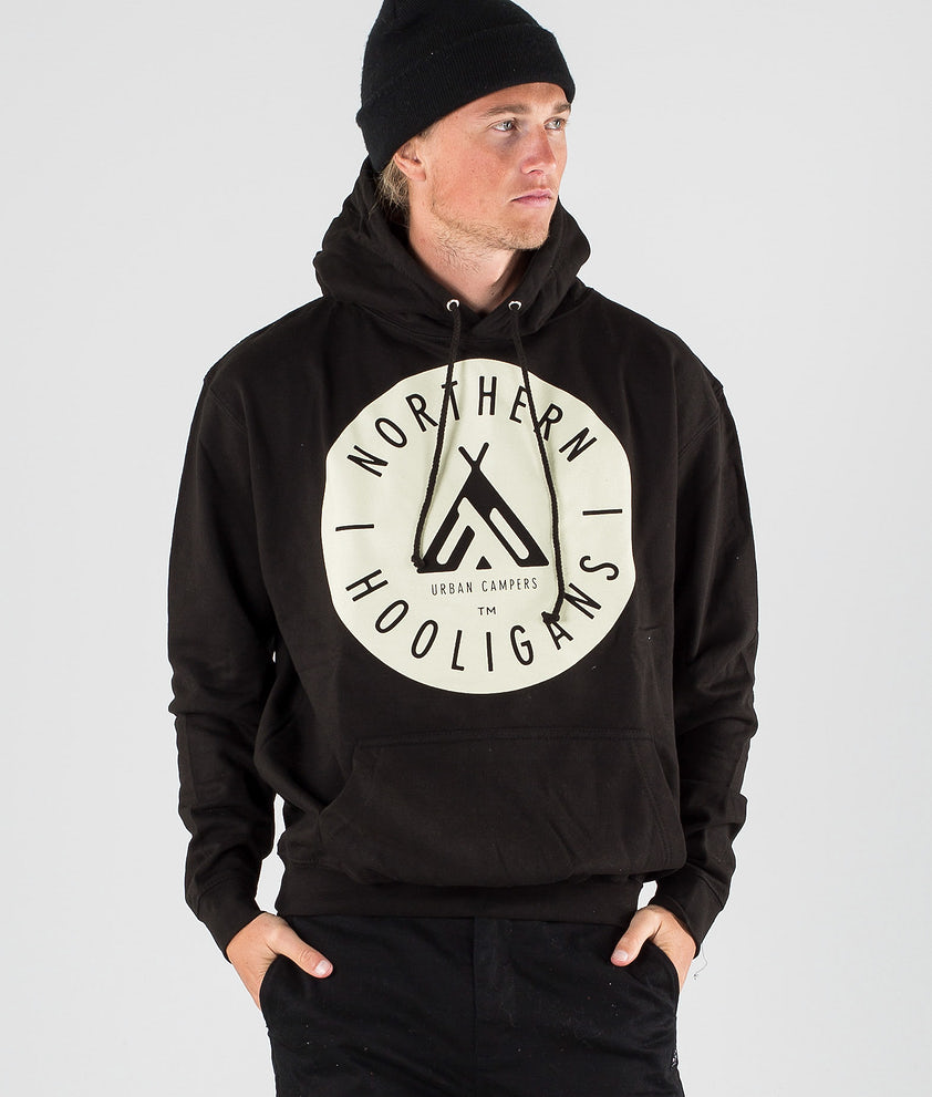 Northern Hooligans Urban Campers Hood Black