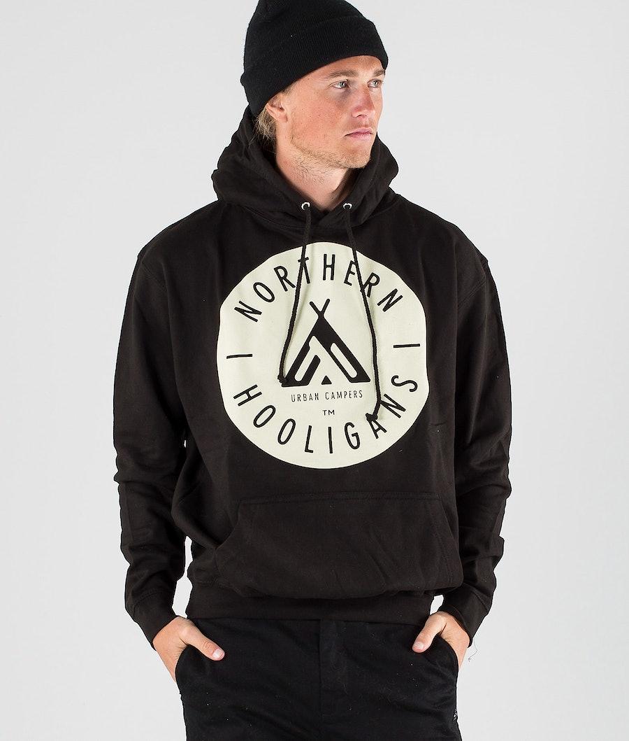 Northern Hooligans Urban Campers Hoodie Black