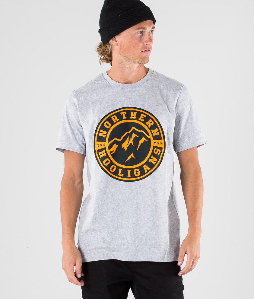 Northern Hooligans Uno T-shirt Heather Grey