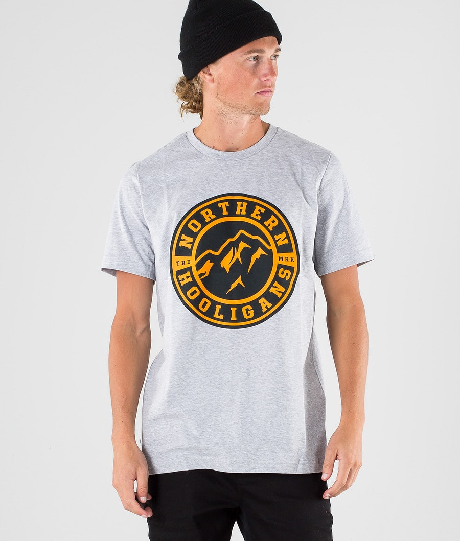 Northern Hooligans Uno T-paita Heather Grey