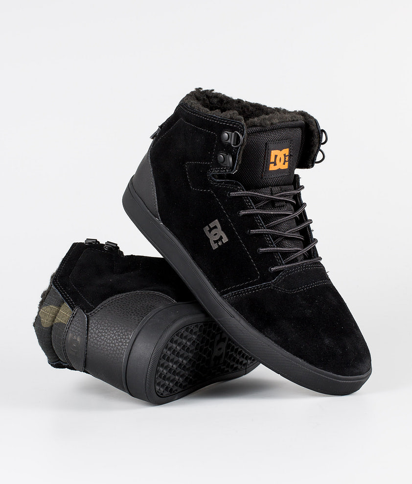 DC Crisis High Wnt Sko Black/Camo