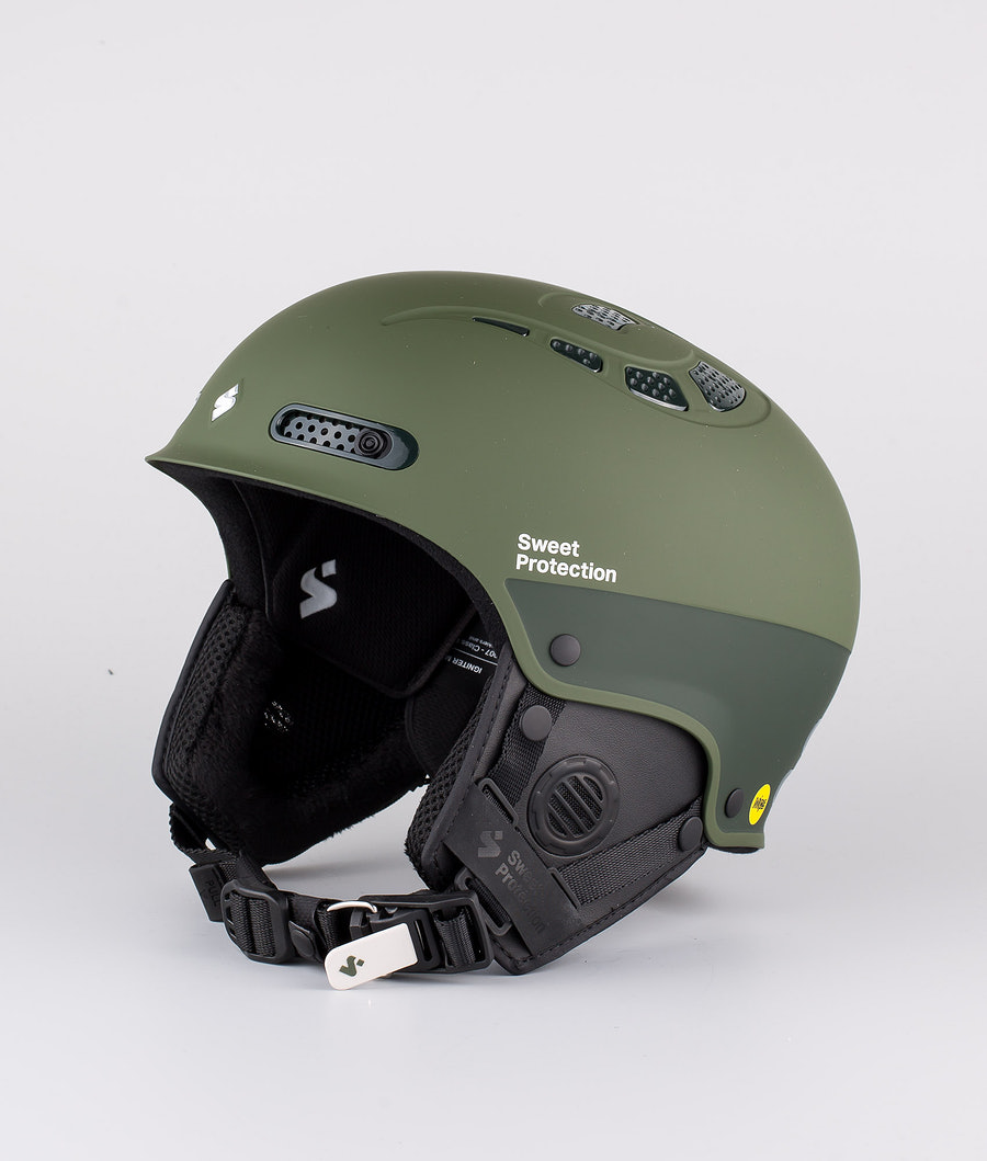 Sweet Protection Igniter II MIPS Casque de Glisse Olive Drab