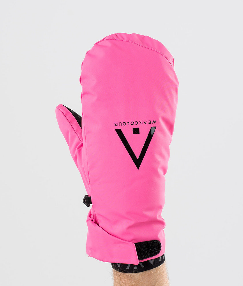 WearColour Rider Mitt Skihansker Post Pink