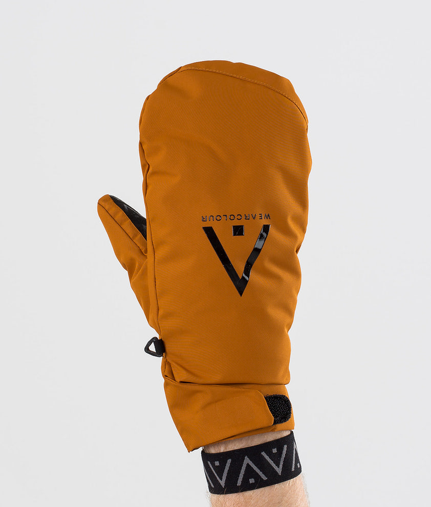 WearColour Rider Mitt Ski Gloves Adobe