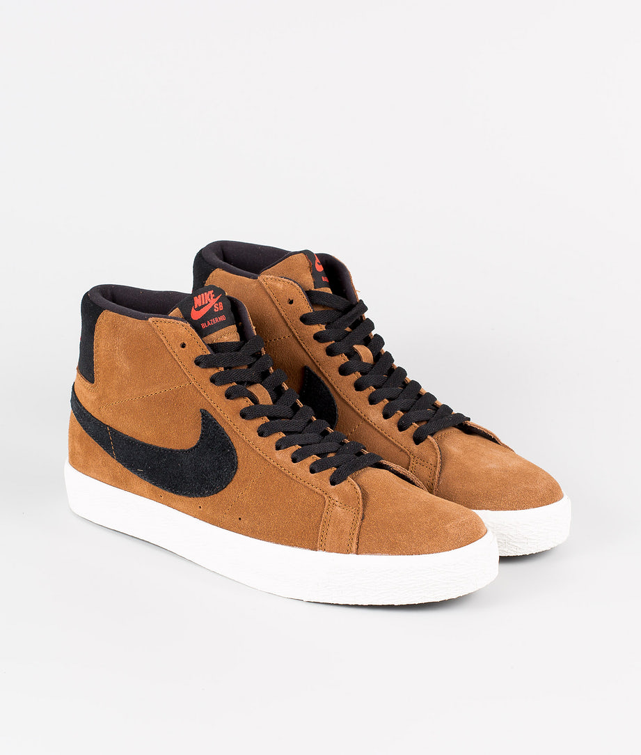 Nike Nike SB Zoom Blazer Mid Schuhe Light British Tan/BLack