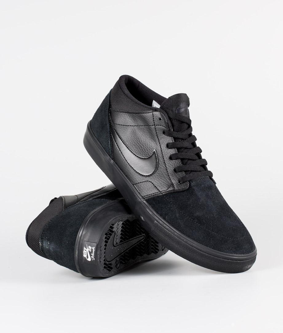 Nike Nike SB Solarsoft Portmore II Mid Kengät Black/Black/Black/Anthracite