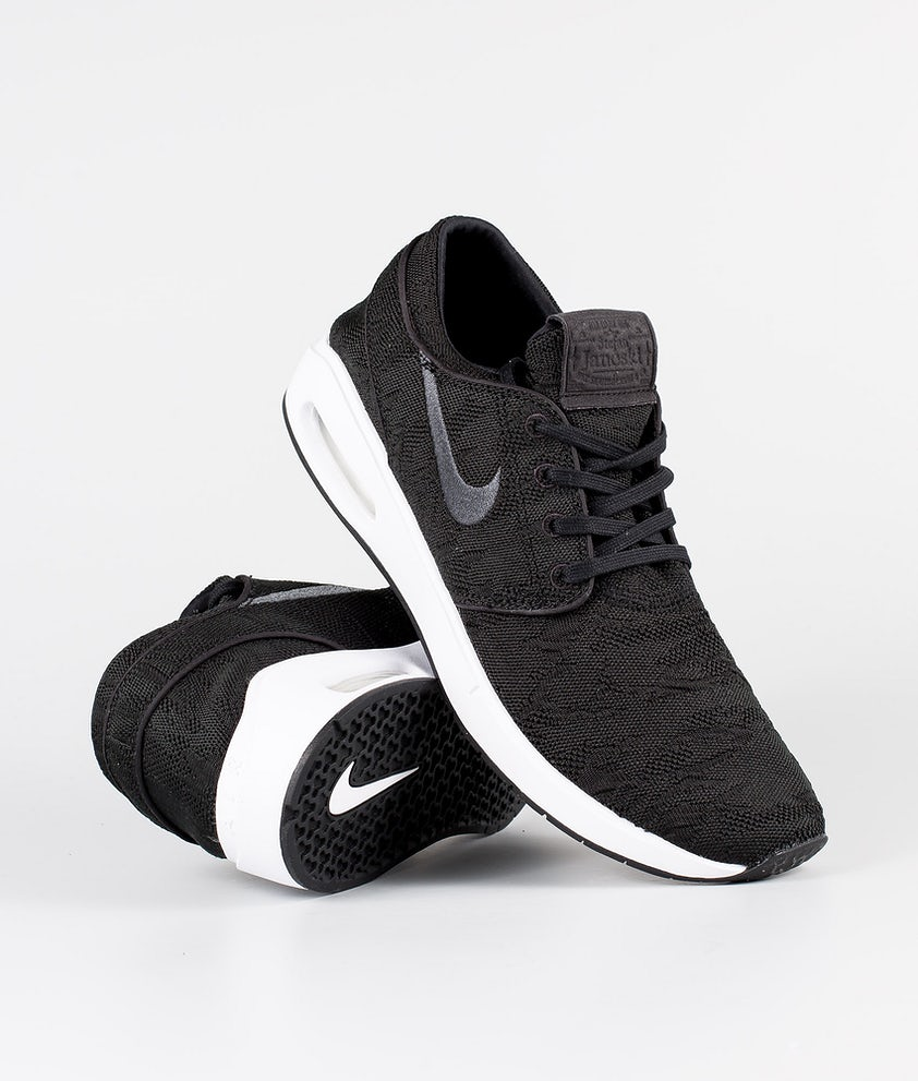 Nike SB Air Max Janoski 2 Schuhe Black/Anthracite-White