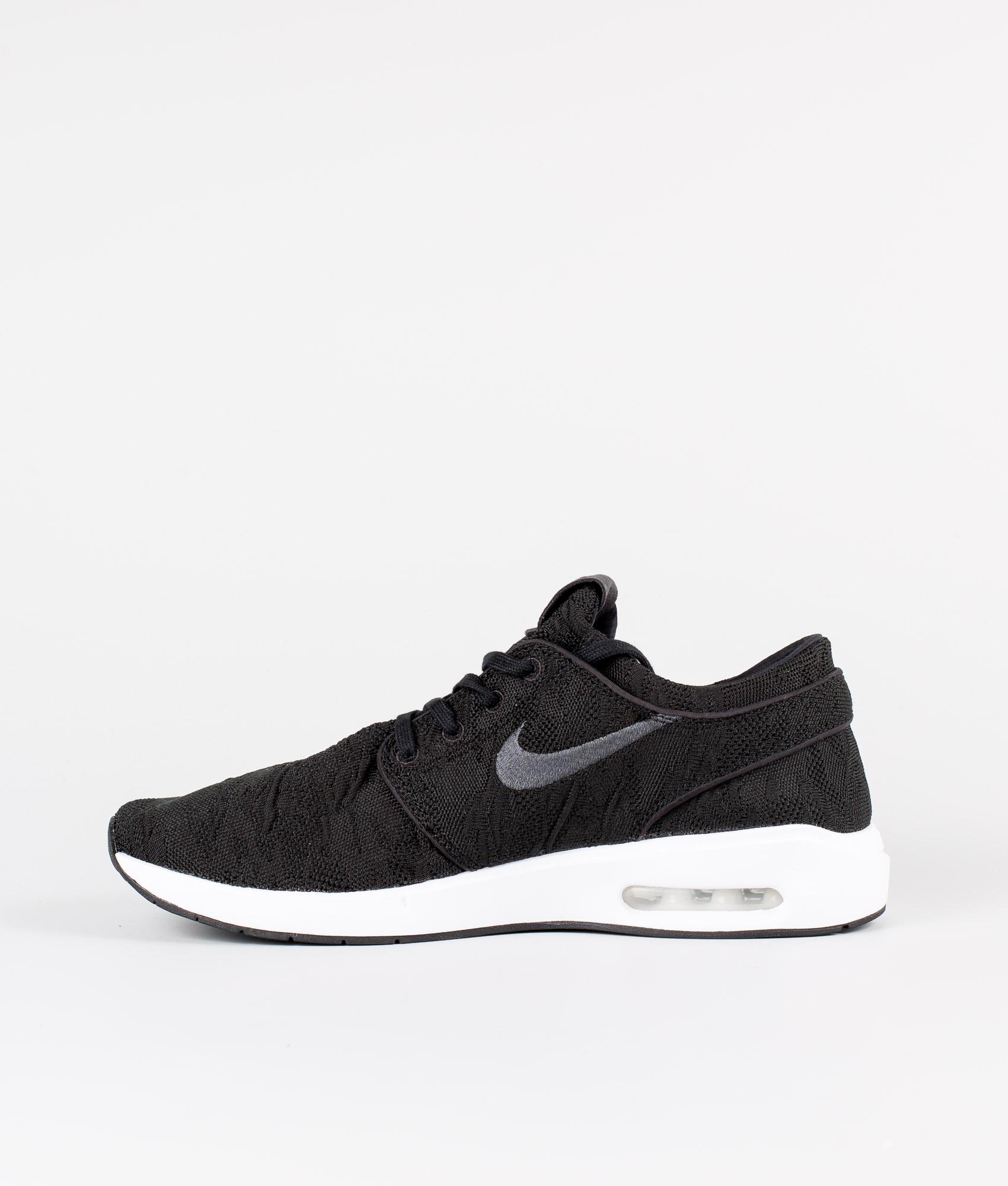Nike SB Air Max Janoski 2 Schuhe BlackAnthracite White