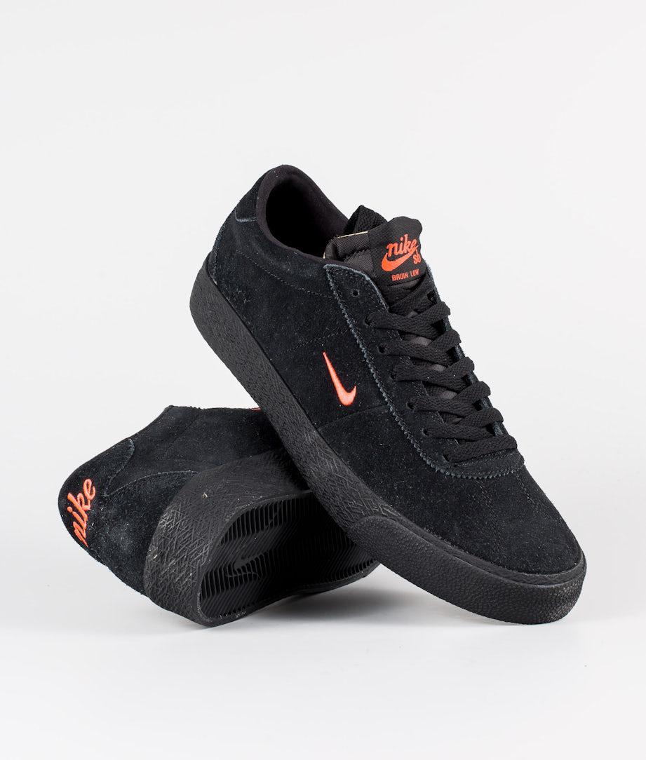 Nike Nike SB Zoom Bruin Skor Black/Bright Crimson-Black