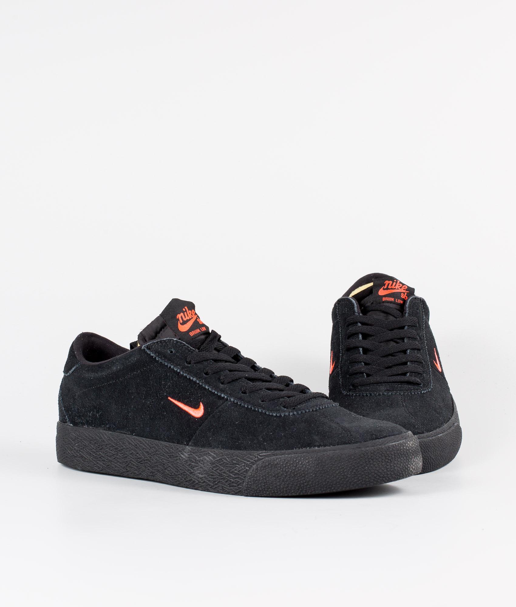 Nike Nike SB Zoom Bruin Sko BlackBright Crimson Black