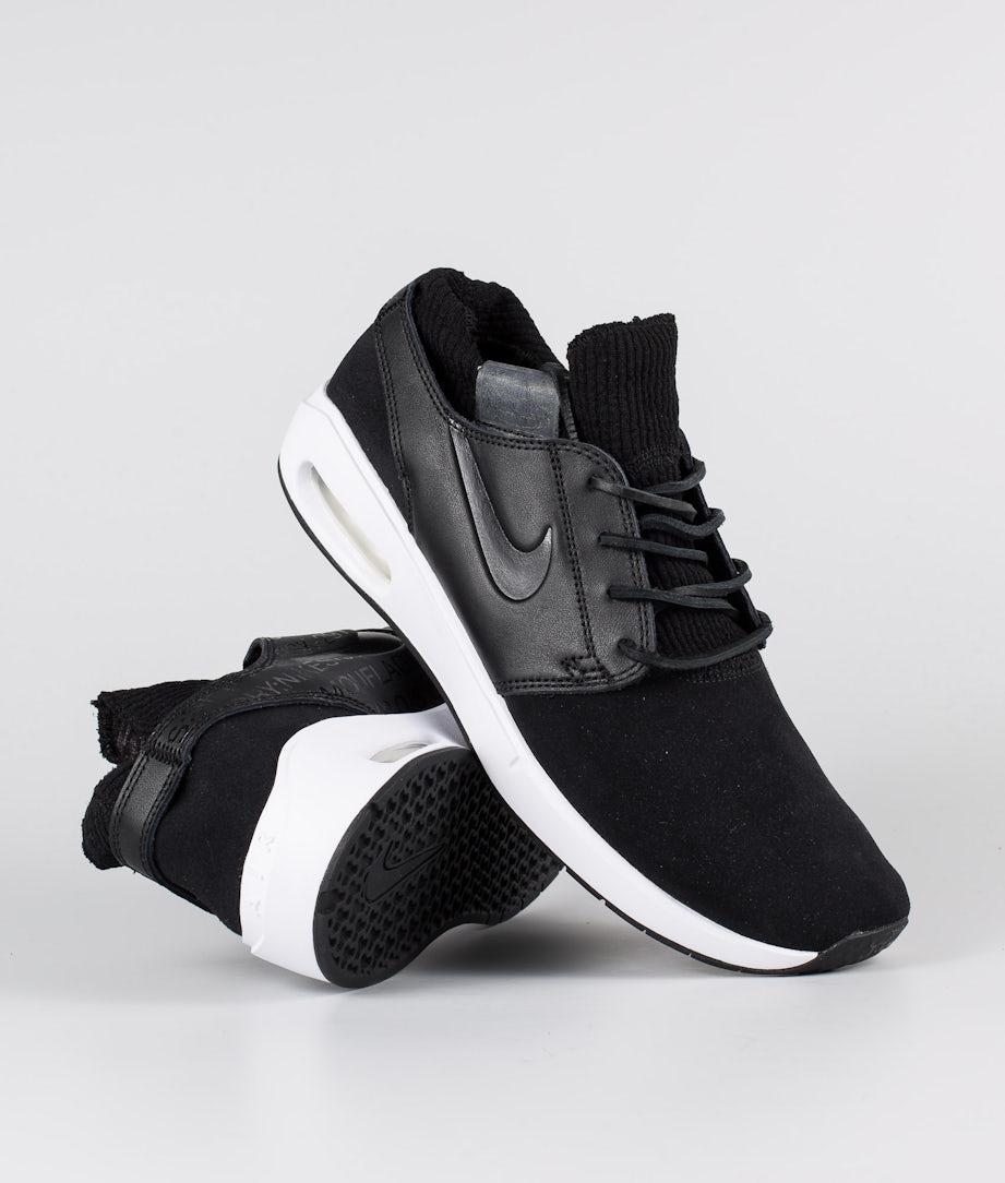 Nike Nike SB Air Max Janoski 2 Premium Shoes Black/Black-Black-Thunder Grey