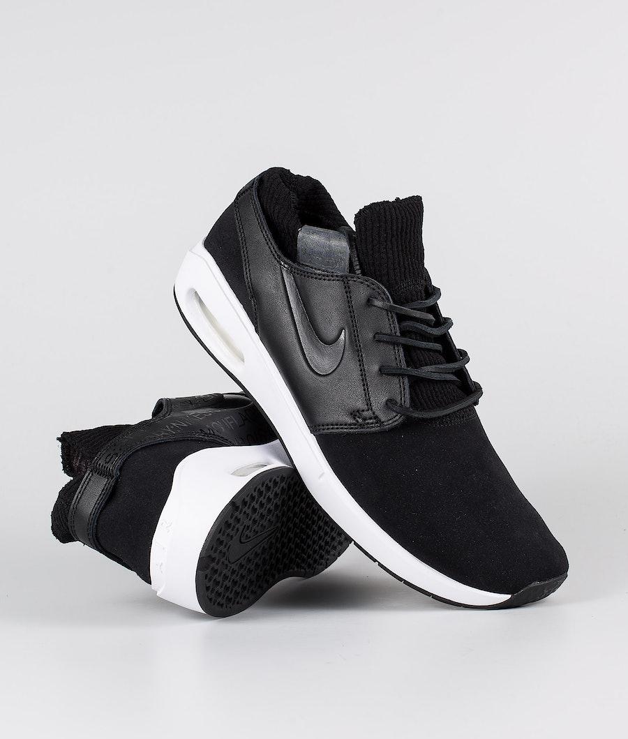 Nike Nike SB Air Max Janoski 2 Premium Skor Black/Black-Black-Thunder Grey