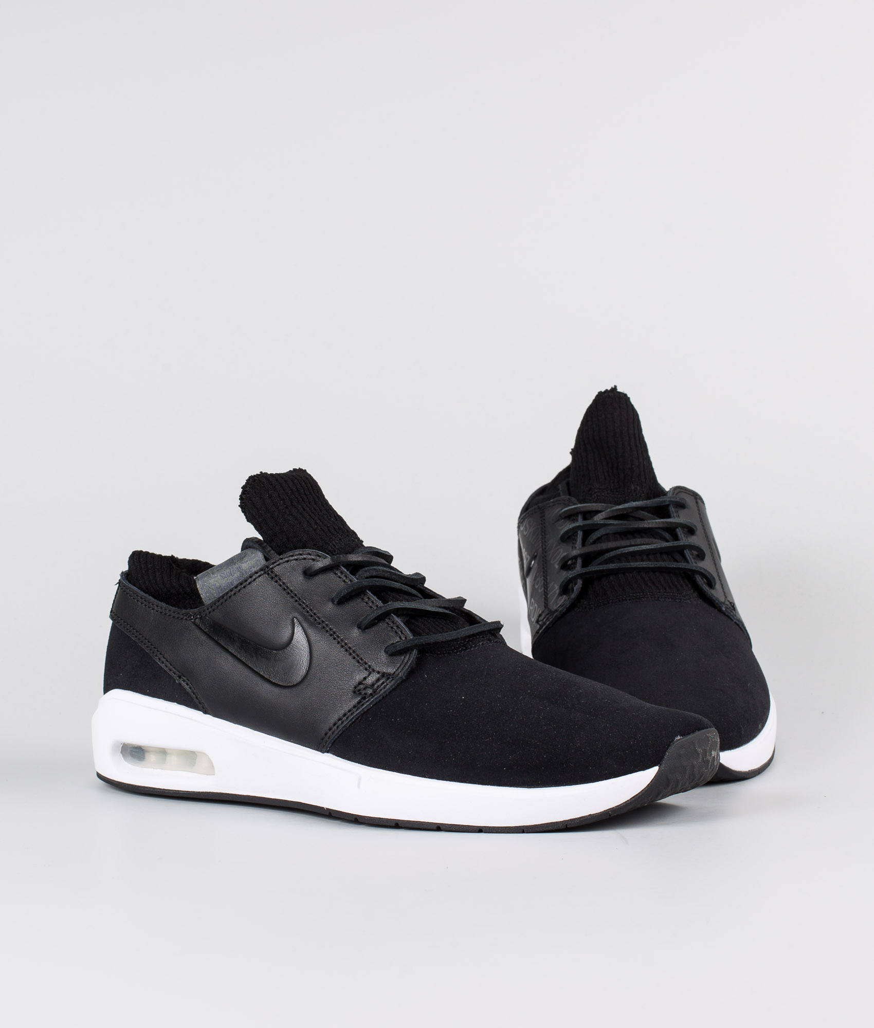 Nike Nike SB Air Max Janoski 2 Premium Skor BlackBlack Black Thunder Grey