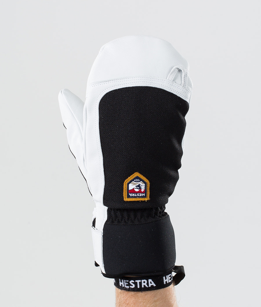 Hestra Army Leather Patrol Mitt Ski Gloves Black