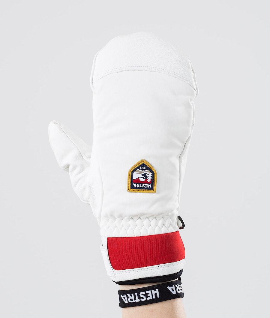 Hestra Women´S Moje Czone Mitt Ski Gloves Ivory