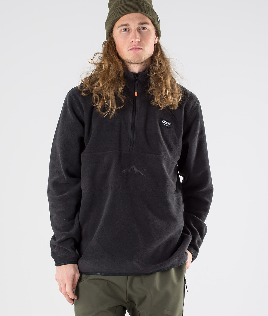 Dope Loyd Polartec Fleece Sweater Black