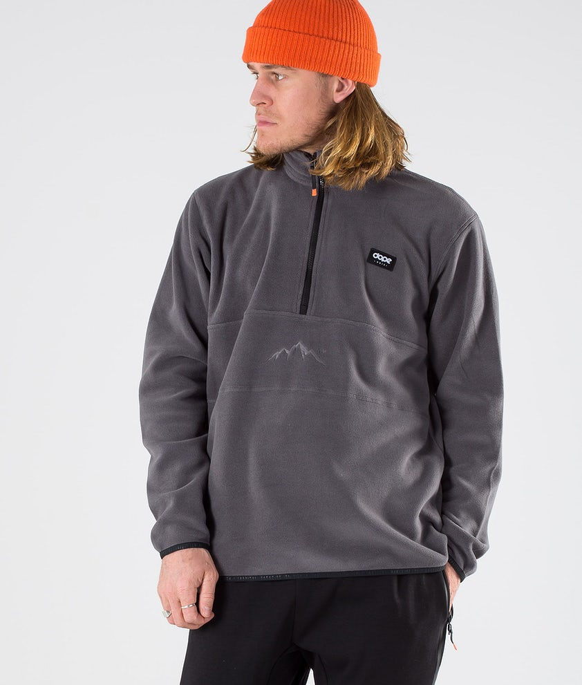 Dope Loyd Polartec Fleece Trui Blackened Pearl