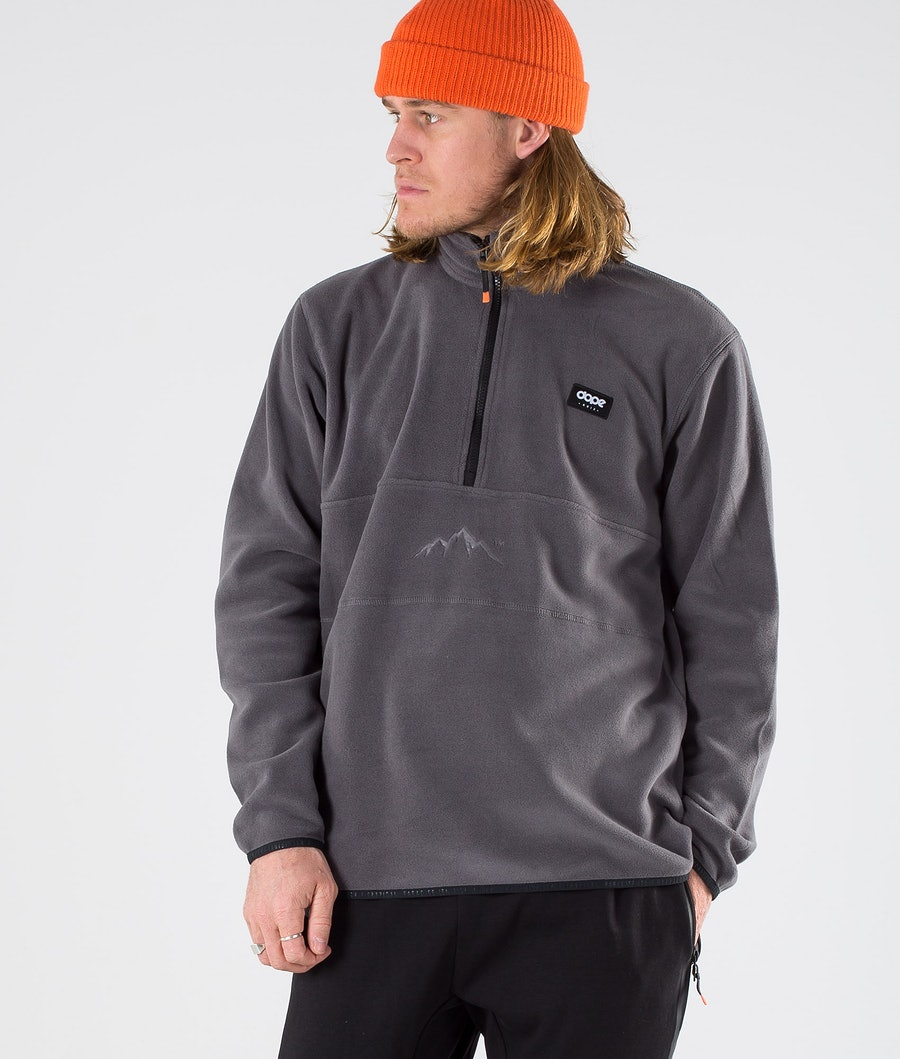 Dope Loyd Polartec Fleece Sweater Blackened Pearl