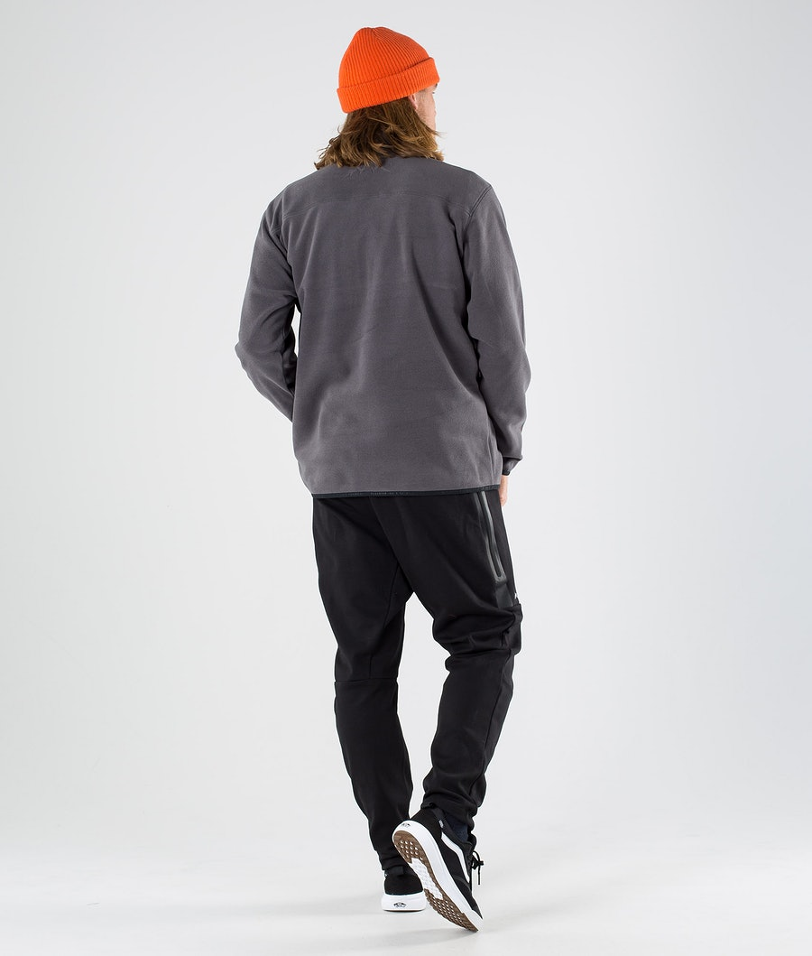 Dope Loyd Polartec Fleece Sweater Blackened Pearl