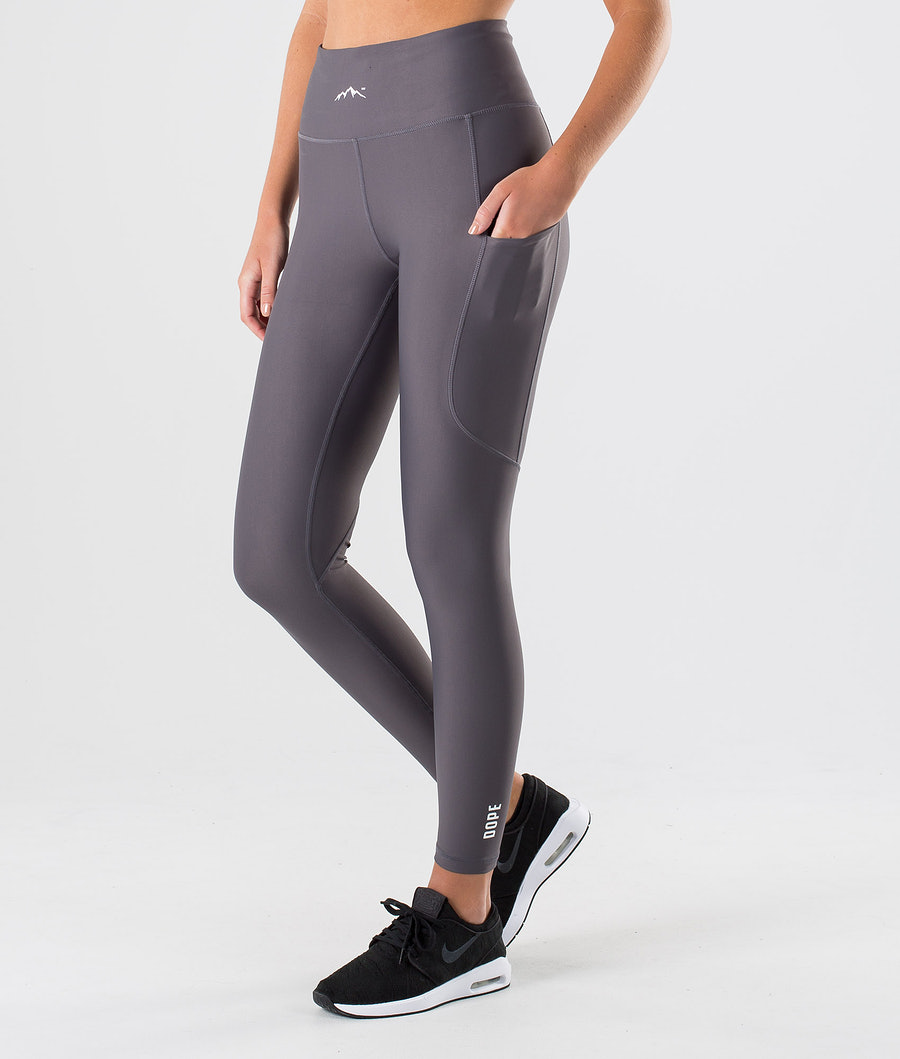 Dope Lofty Tech Leggings Blackened Pearl