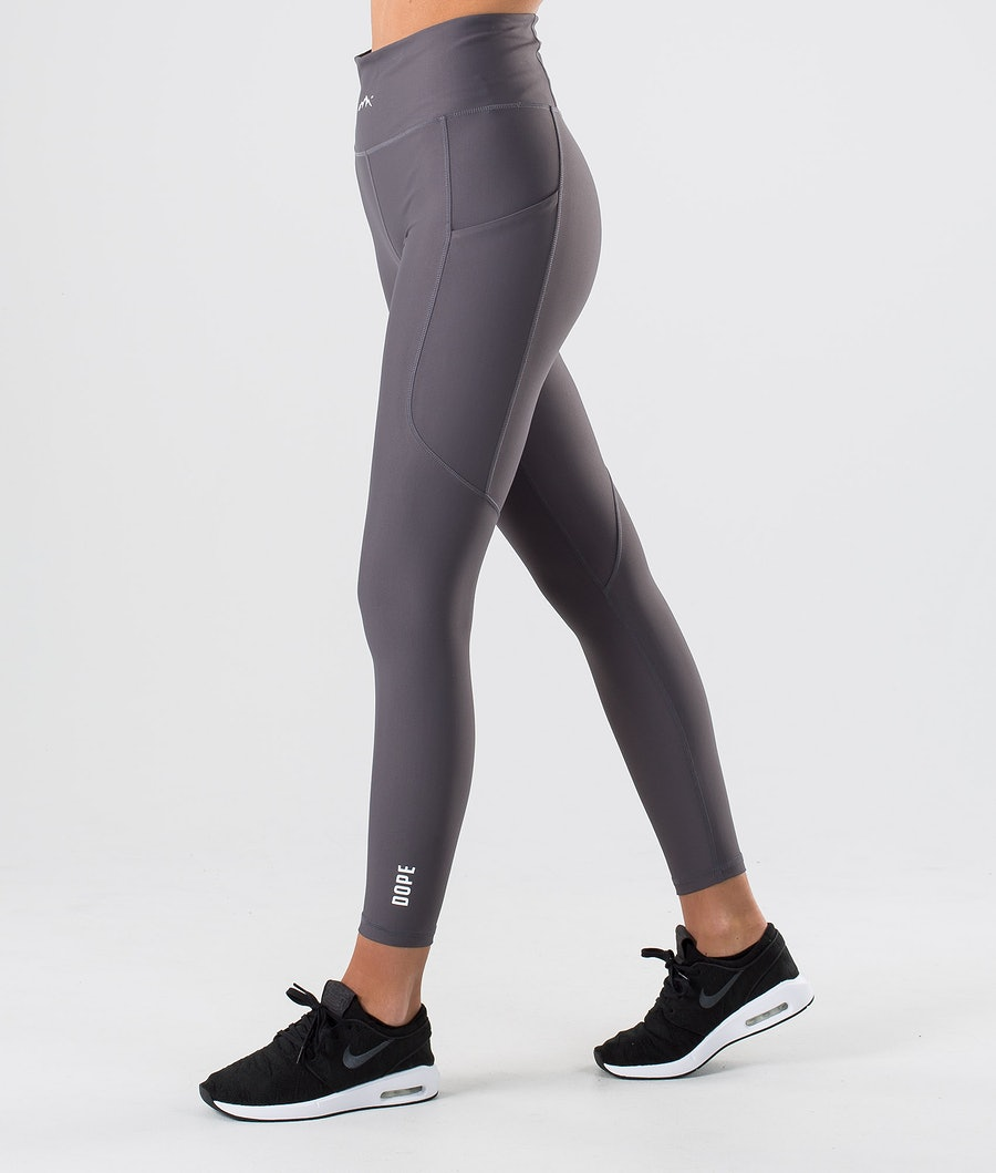 Dope Lofty Tech Leggings Damen Blackened Pearl